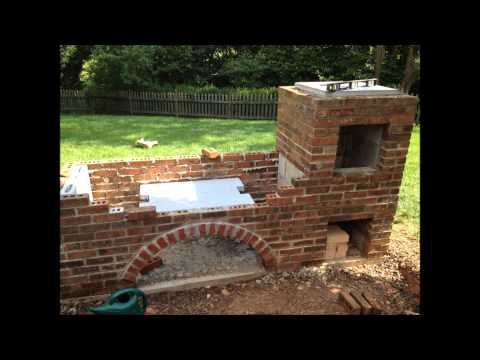 Argentine Grill Amp Brick Bbq Smoker Stop Motion Outdoor